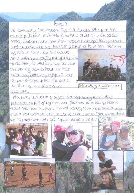Shamwari Report page 7