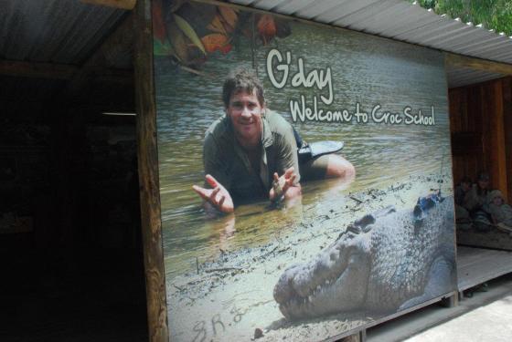 Croc School - Steve Irwin