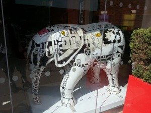 Some of the Elephants are still around Norwich