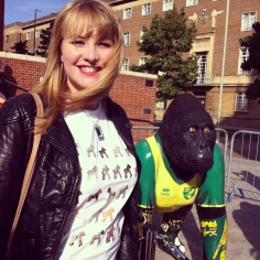Kate on Conservation and Go Go Gorilla Mr Carrow