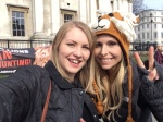 Kate on Conservation and Anneak Svenska - Global march for Lions