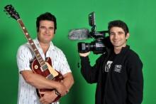 Michael Dias and Elvis Shmelvis