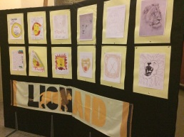 Lion aid art competition entries