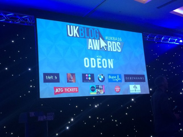 blog awards screen