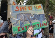 Global march for elephants and rhinos London