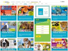 Nat geo kids website animals resource