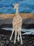 rothchilds giraffe calf by Omra Sian