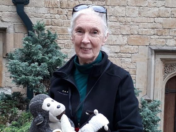 Jane Goodall Windsor Castle