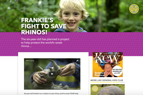 National geographic kids rhinos up article