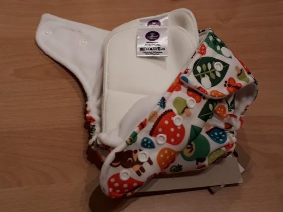 Milovia nappy cover and lining