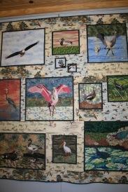 Audubon Sarasota education centre bird tapesty