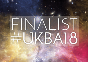 UK Blog Awards 2018 finalist